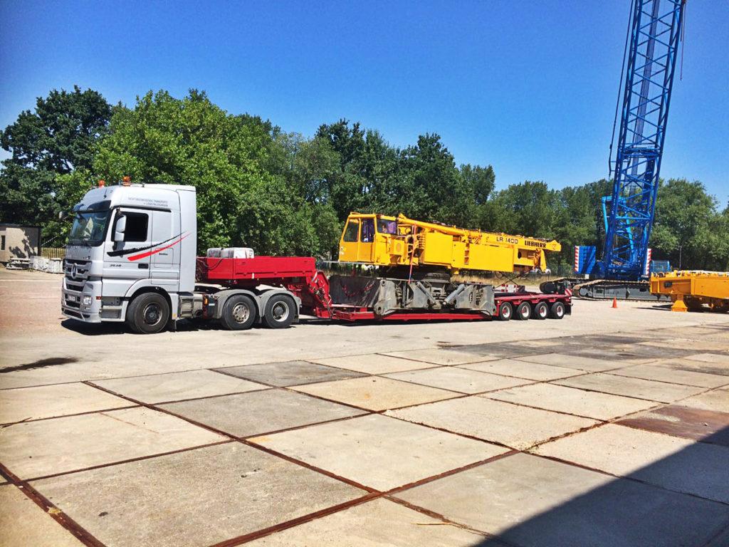 Перевозка длинномерных грузов из Европы