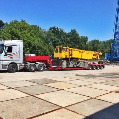 Перевезення довгомірних вантажів з Європи